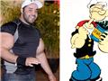 高清:埃及健身男暴强肱二头肌 酷似大力水手